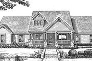 Craftsman Style House Plan - 3 Beds 2.5 Baths 1922 Sq/Ft Plan #310-606 Exterior - Front Elevation