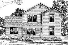 Home Plan - Farmhouse Exterior - Front Elevation Plan #124-311