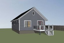 House Plan Design - Cottage Exterior - Other Elevation Plan #79-111
