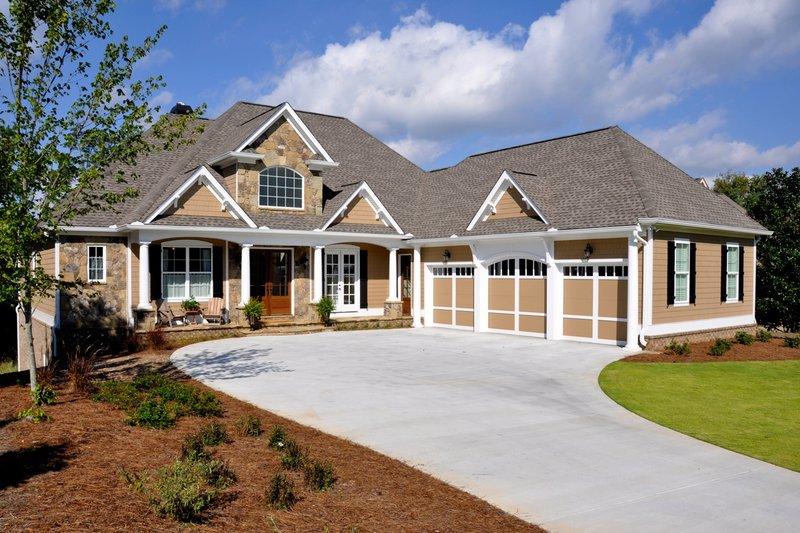 House Plan Design - Craftsman Exterior - Front Elevation Plan #437-60