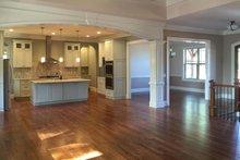 Craftsman Interior - Family Room Plan #437-74