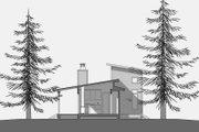 Modern Style House Plan - 1 Beds 1 Baths 500 Sq/Ft Plan #531-4