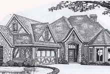 Traditional Exterior - Front Elevation Plan #310-833