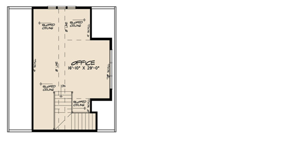 Farmhouse Floor Plan - Upper Floor Plan Plan #923-116