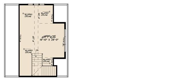 Farmhouse Floor Plan - Upper Floor Plan Plan #923-116