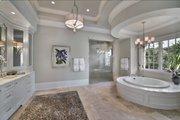 Mediterranean Style House Plan - 5 Beds 5.5 Baths 8001 Sq/Ft Plan #548-5 Interior - Master Bathroom