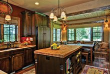 Cabin Interior - Kitchen Plan #942-25