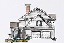 House Plan Design - Classical Exterior - Other Elevation Plan #429-184
