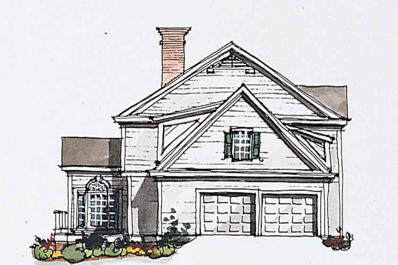 Classical Exterior - Other Elevation Plan #429-184 - Houseplans.com