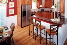 Dream House Plan - Country Interior - Kitchen Plan #929-470