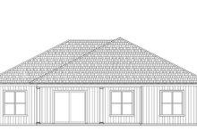 Craftsman Exterior - Rear Elevation Plan #938-101