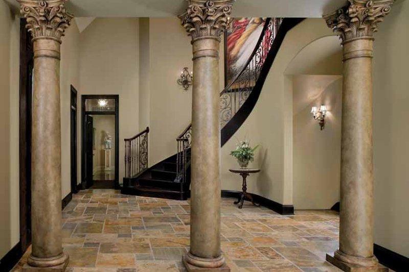 Tudor Interior - Entry Plan #928-61 - Houseplans.com