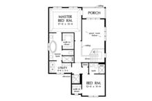 Country Floor Plan - Upper Floor Plan Plan #929-996