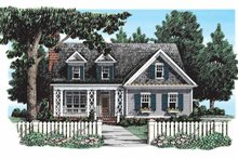 House Design - Country Exterior - Front Elevation Plan #927-294