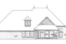 Home Plan - European Exterior - Rear Elevation Plan #310-1264