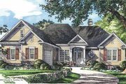 Ranch Style House Plan - 3 Beds 2.5 Baths 2017 Sq/Ft Plan #929-666 Exterior - Front Elevation