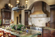 House Design - Mediterranean Interior - Kitchen Plan #930-418