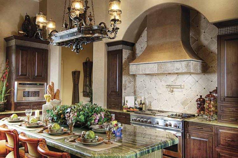 Mediterranean Interior - Kitchen Plan #930-418 - Houseplans.com