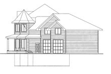 Home Plan - Victorian Exterior - Other Elevation Plan #117-864