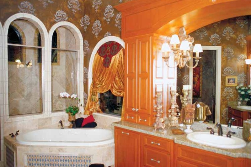 Mediterranean Interior - Bathroom Plan #417-527 - Houseplans.com