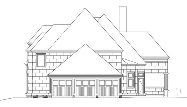 House Plan Design - European Floor Plan - Other Floor Plan #119-417