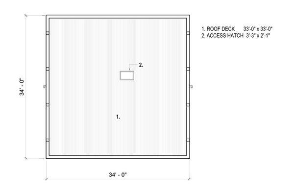 Architectural House Design - Modern Floor Plan - Other Floor Plan #497-26