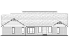 Country Exterior - Rear Elevation Plan #21-299