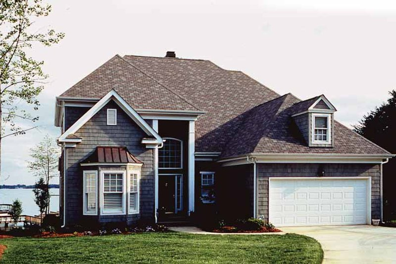 Dream House Plan - European Exterior - Front Elevation Plan #453-431