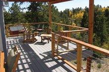 House Design - Contemporary Exterior - Outdoor Living Plan #1042-14