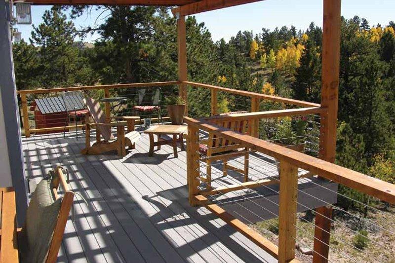 Contemporary Exterior - Outdoor Living Plan #1042-14 - Houseplans.com