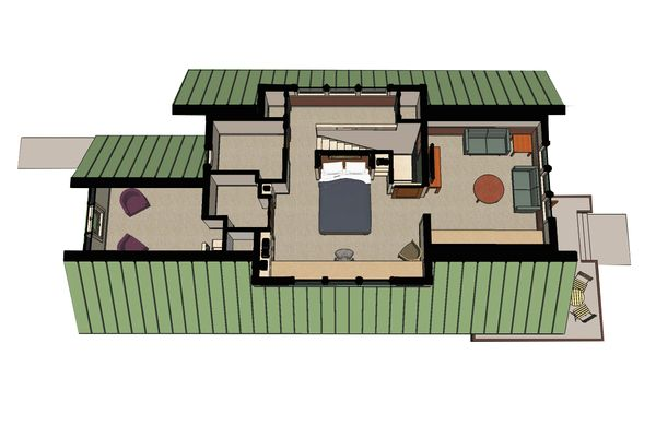 Craftsman Floor Plan - Other Floor Plan #454-13