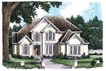 House Plan Design - Mediterranean Exterior - Front Elevation Plan #927-59