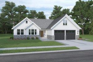 Craftsman Exterior - Front Elevation Plan #1070-109
