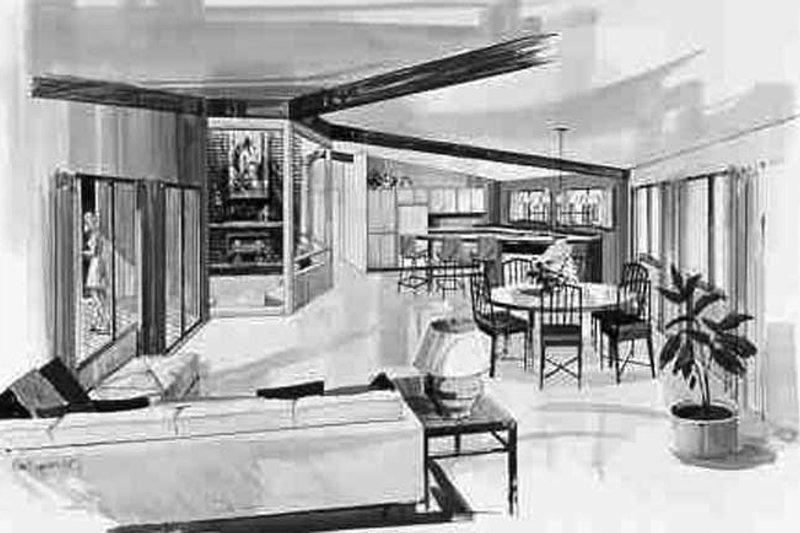 Contemporary Interior - Other Plan #314-293 - Houseplans.com
