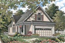 Country Exterior - Front Elevation Plan #929-762