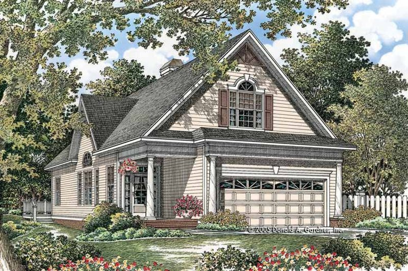 Country Exterior - Front Elevation Plan #929-762 - Houseplans.com