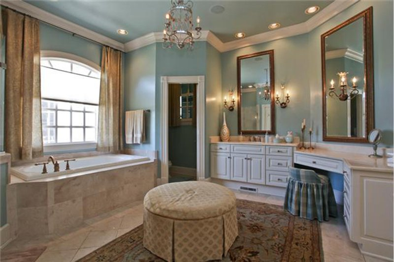 Classical Interior - Master Bathroom Plan #137-311 - Houseplans.com