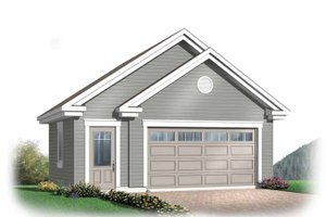 Dream House Plan - Exterior - Front Elevation Plan #23-2368