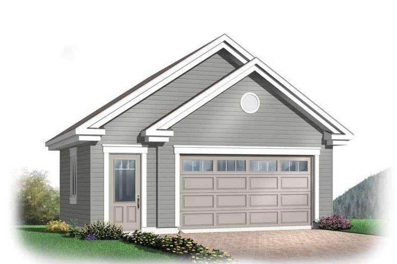 Dream House Plan - Exterior - Front Elevation Plan #23-2368