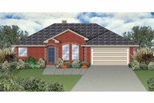 Home Plan - Ranch Exterior - Front Elevation Plan #84-644