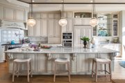 European Style House Plan - 4 Beds 4.5 Baths 4455 Sq/Ft Plan #48-650 Interior - Kitchen