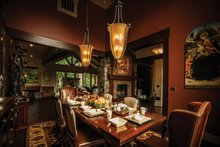Dream House Plan - Craftsman Interior - Dining Room Plan #509-432