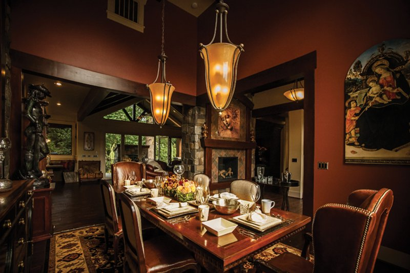 Craftsman Interior - Dining Room Plan #509-432 - Houseplans.com