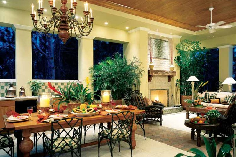 Mediterranean Interior - Other Plan #930-312 - Houseplans.com