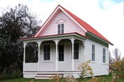 Cottage Style House Plan - 1 Beds 1 Baths 356 Sq/Ft Plan #915-4