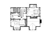 Cabin Style House Plan - 3 Beds 2 Baths 1825 Sq/Ft Plan #942-33 Floor Plan - Upper Floor