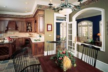 House Plan Design - European Interior - Kitchen Plan #429-193