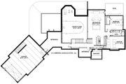 European Style House Plan - 4 Beds 3.5 Baths 5977 Sq/Ft Plan #928-8 Floor Plan - Lower Floor Plan