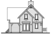 European Style House Plan - 3 Beds 2 Baths 1792 Sq/Ft Plan #23-628 Exterior - Other Elevation