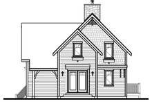Dream House Plan - European Exterior - Other Elevation Plan #23-628